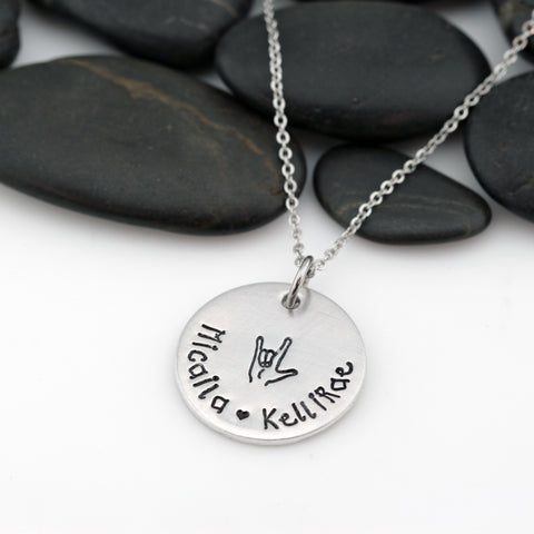 "ASL ""I Love You"" 