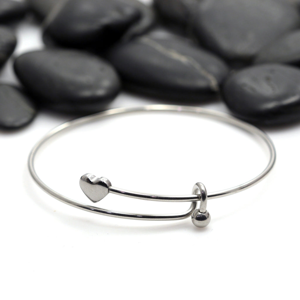 Build Your Own DIY Stainless Steel Expandable Bangle Bracelet - Hand Stamped