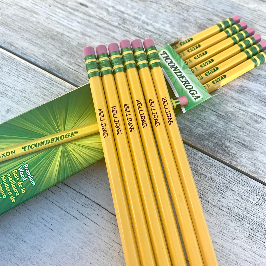 Personalized Pencil Set | Back To School Supplies | Teacher Appreciation Gift