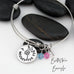 I Wished For You - Personalized Expandable Bangle Bracelet