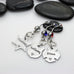 Name Belly Ring | Maltese Cross | Firefighter | Police Officer Badge | Deputy Sheriff Badge - Hand Stamped