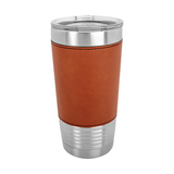 Custom 20 oz. Leatherette Tumbler