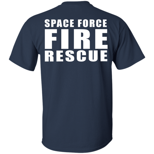 Space Force Fire Rescue G200 Gildan Ultra Cotton T-Shirt