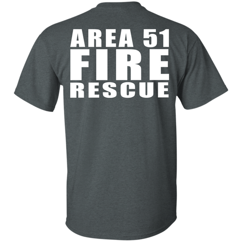 Area 51 Fire Rescue G200 Gildan Ultra Cotton T-Shirt