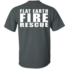 Flat Earth Fire Rescue Gildan Ultra Cotton T-Shirt