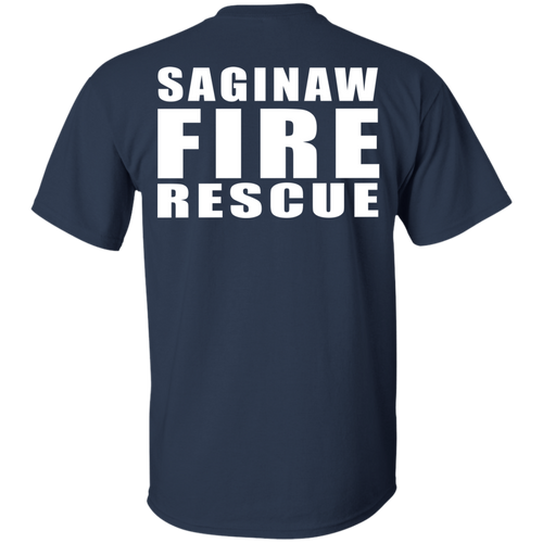 Saginaw Fire Gildan Ultra Cotton T-Shirt