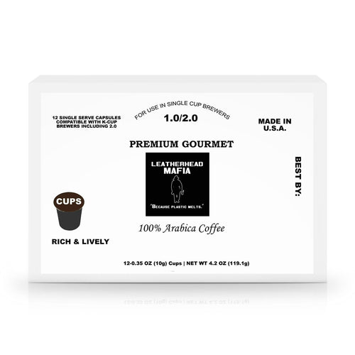 Leatherhead Mafia 60 Pack Single Serve Coffee Capsules