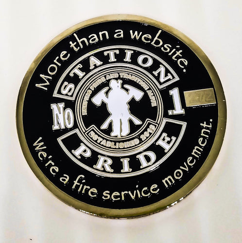 Station-Pride Challenge Coin