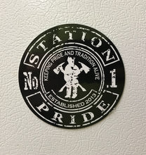 "Station-Pride 4"" Truck/Fridge Magnet"