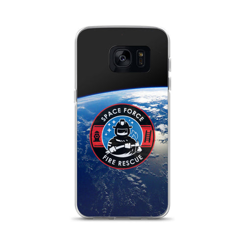 Space Force Fire Samsung Phone Case