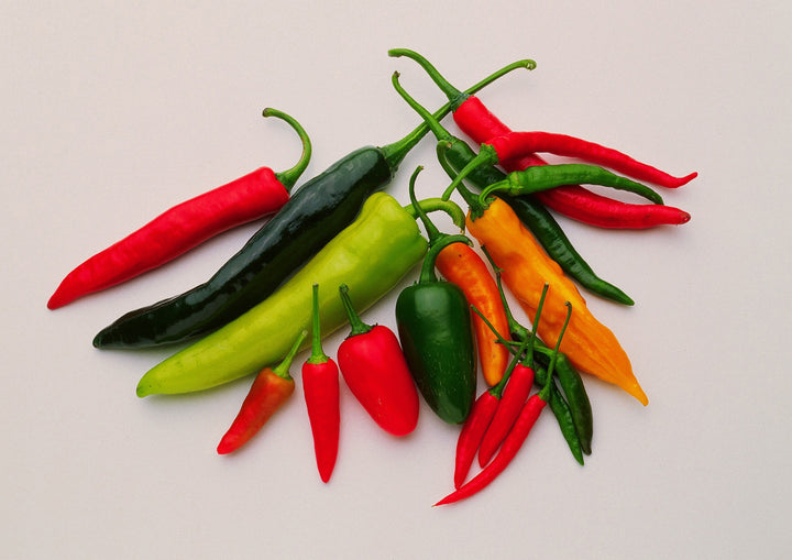 Multi-Pepper Chillies in Oil