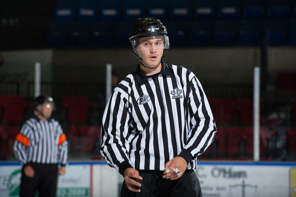 Brandon Bourgeois Is The Hockey Ref Shop July Official Of The Month