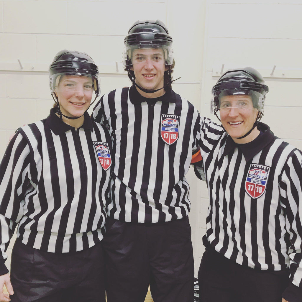 Conor Harrington Is The Hockey Ref Shop August Official Of The Month