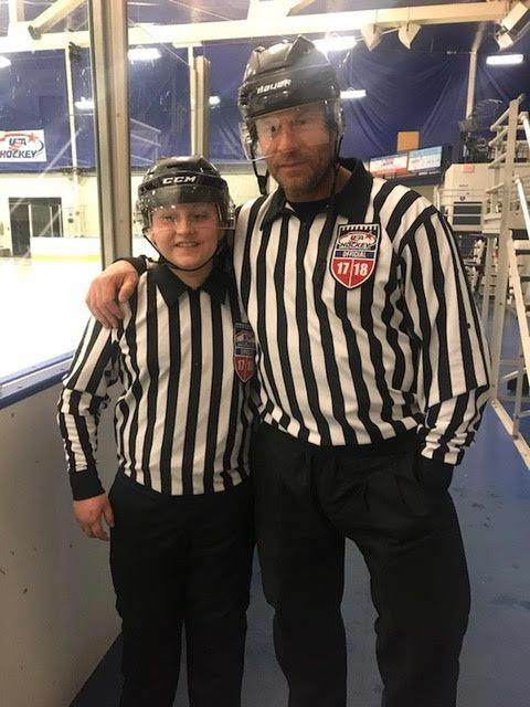 Sean Greene Is The Hockey Ref Shop December Official Of The Month - Hockey Ref Shop