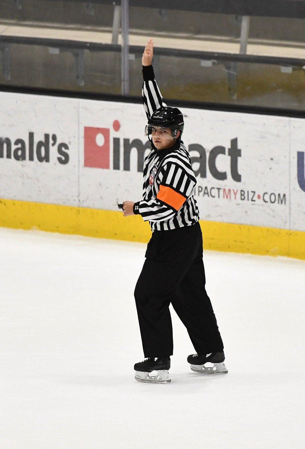 November Official of the Month: Dylan Freed - Hockey Ref Shop
