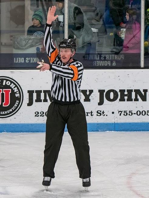 David Lilly is The Hockey Ref Shop January Official Of The Month - Hockey Ref Shop