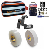 Hockey Ref Shop Accessory Bag Package! (Accessory Bag, Helmet Repair Kit, Black Acme Whistle, White Tape, Clear Tape)