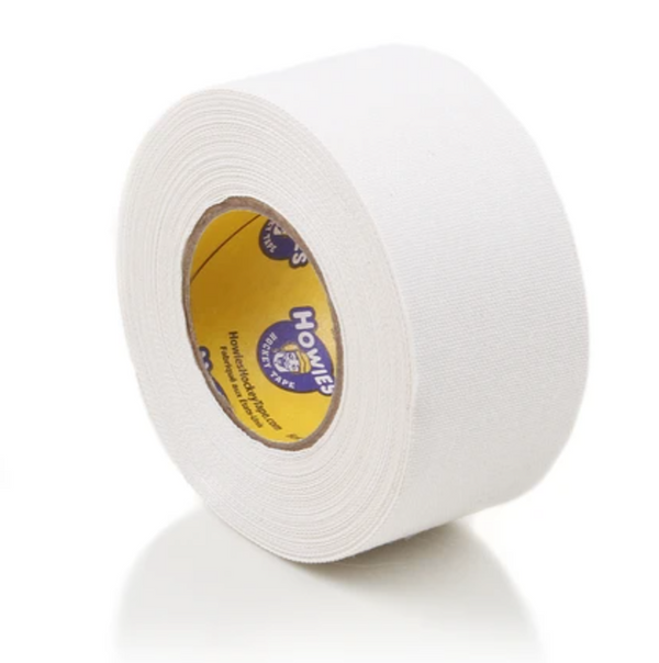 "Wide 1.5"" White Cloth Howies Hockey Tape"