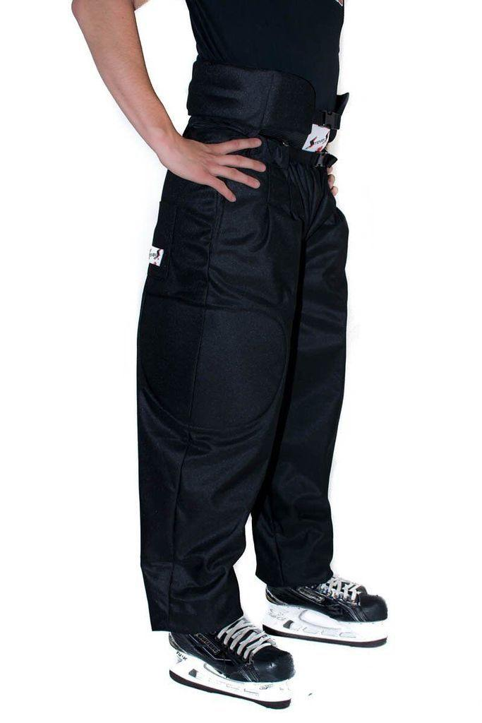 Hockey Ref Shop Pro Package! (QuickFlip Reversible Sweater, Crest Velcro, Stevens Pro Padded Pants) - Hockey Ref Shop