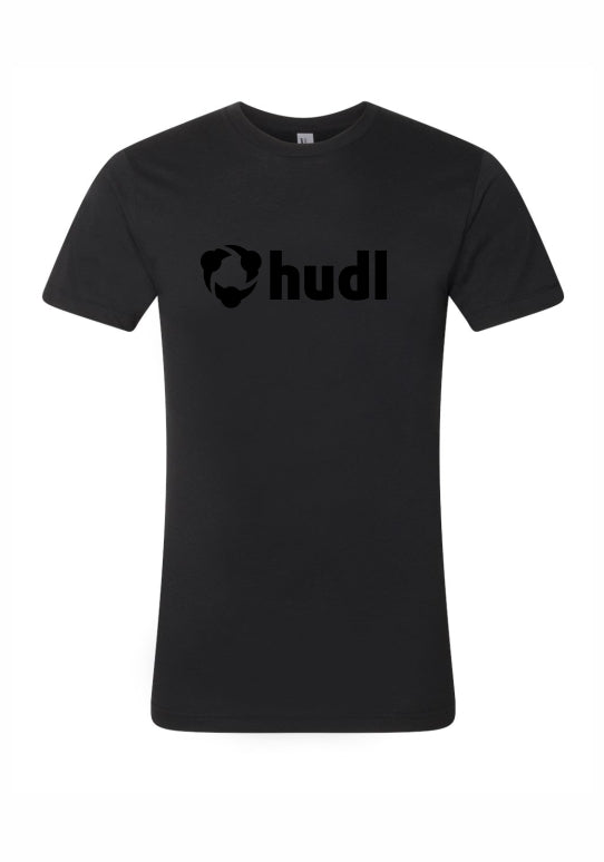 Short Sleeve Black Hudl Tee