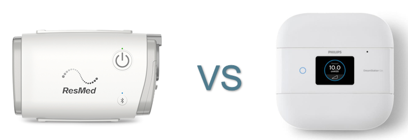 Travel CPAP Showdown: ResMed AirMini vs. Respironics DreamStation Go