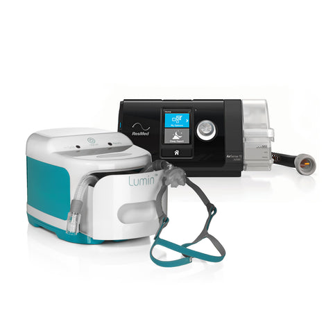 AirSense 10 Autoset with Lumin CPAP Sanitizer