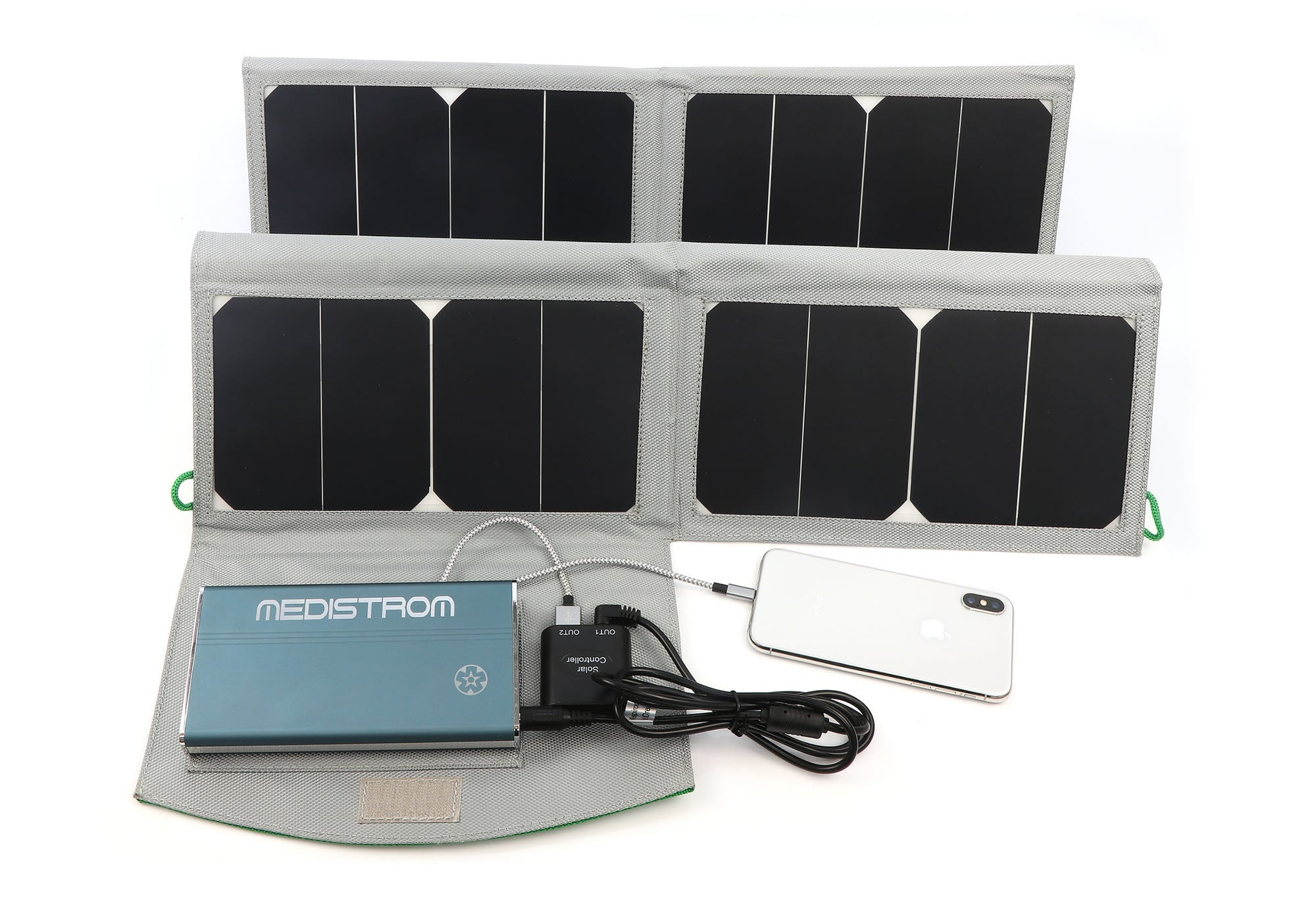 Solar Panel Charger For Pilot 12 24 Lite Cpap Battery Charging And