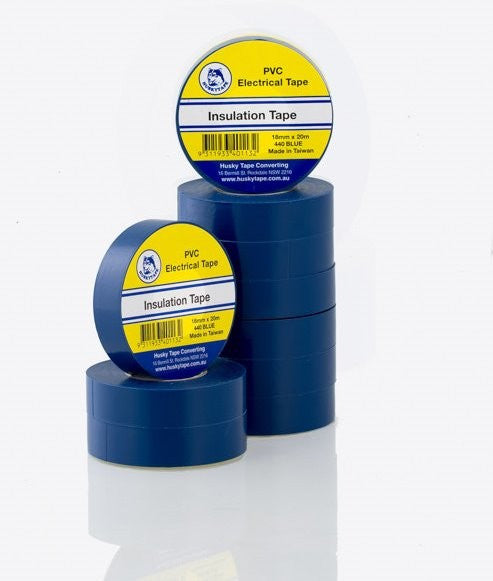 Blue PVC Insulation Tape - 10 pack - Adhesive Tapes/Electrical Tape - Tapes Online