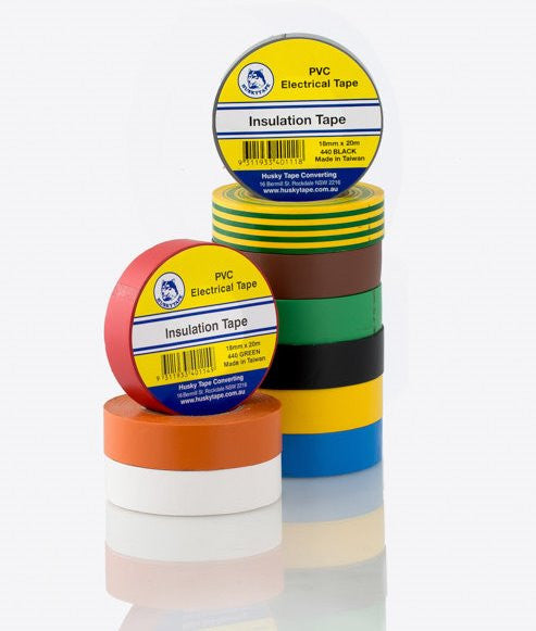 Coloured PVC Insulation Tapes Rainbow 10 Pack