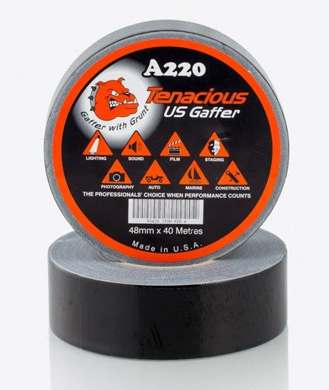 Black Gaffer Tape - Adhesive Tapes/Gaffa Tape - Tapes Online