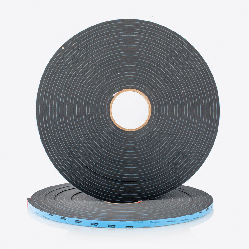 Black Structural Glazing Tape 6.4mm Thickness