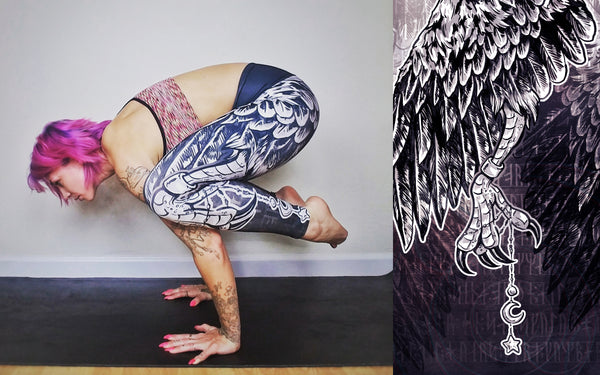 Raven's Claw Yoga Leggings