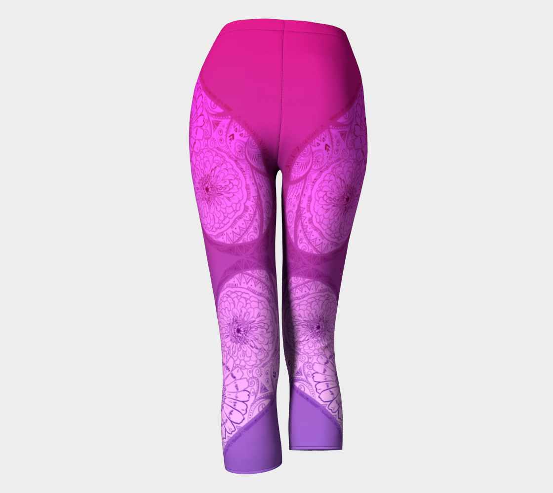 Love Flush Pink and Purple Capri