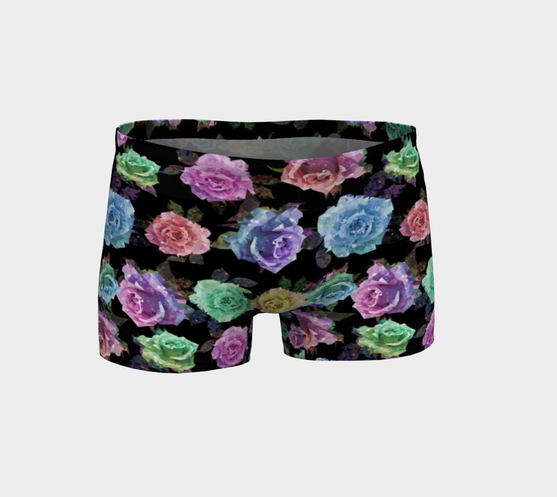 Geometric Floral Shorts