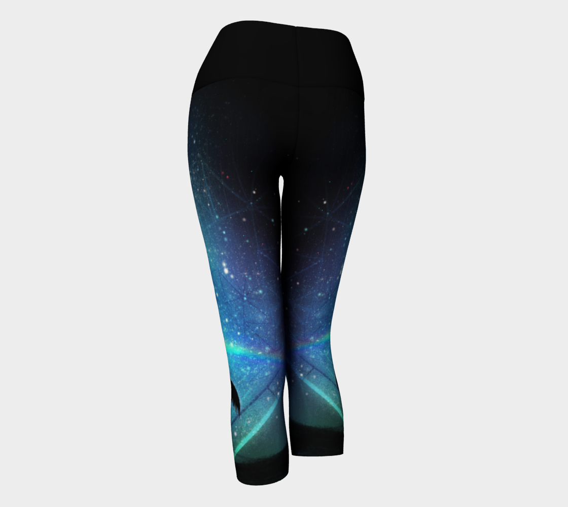 Midnight Angel Yoga Capri