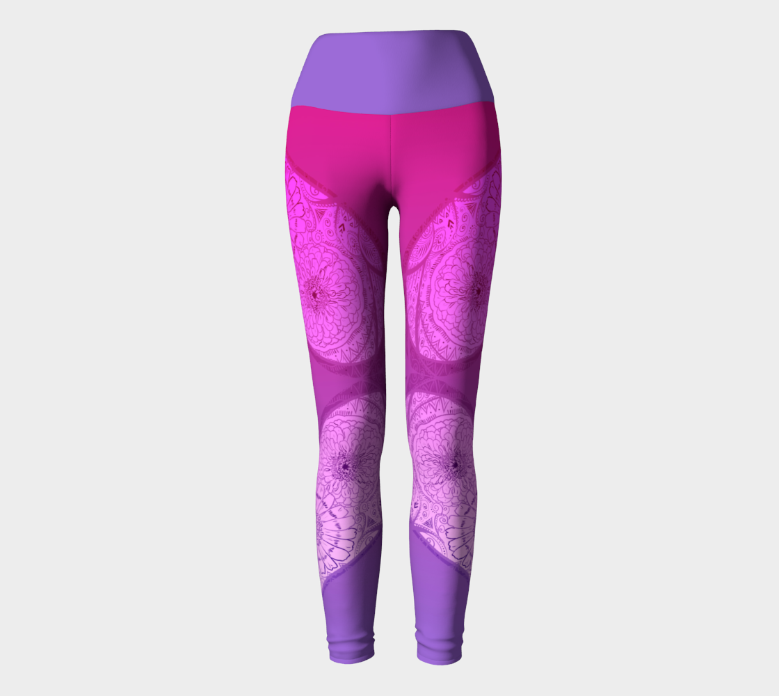 Love Flush Pink and Purple Yoga