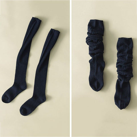 1 Pair Warm Cotton Socks  (Sexy Thigh High Over The Knee Ladies Long Socks )