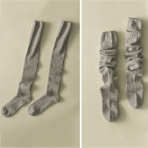 Image of 1 Pair Warm Cotton Socks  (Sexy Thigh High Over The Knee Ladies Long Socks )