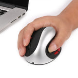 New 2.4G Vertical Ergonomic Optical Mouse ( 3 Adjustable DPI Levels 800/1600/2400 DPI )