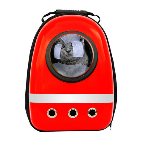 Space Capsule Shaped Pet Carrier /Breathable Pet Backpack For Dogs / Cats