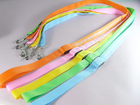 Glowing LED Pet Dog Lead Leash ,USB Rechargeable