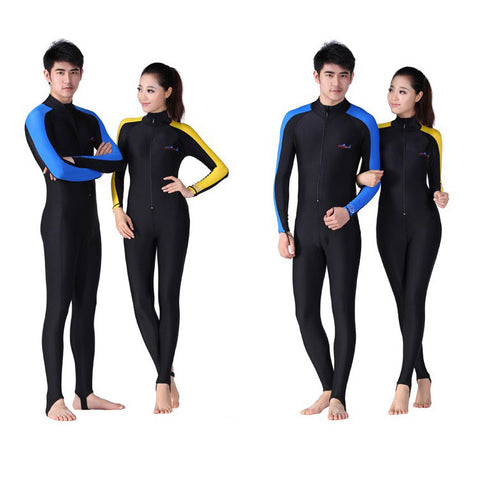 Scuba Dive Skins for Men/ Women- Snorkeling & Water Sports Wet Jump Suits