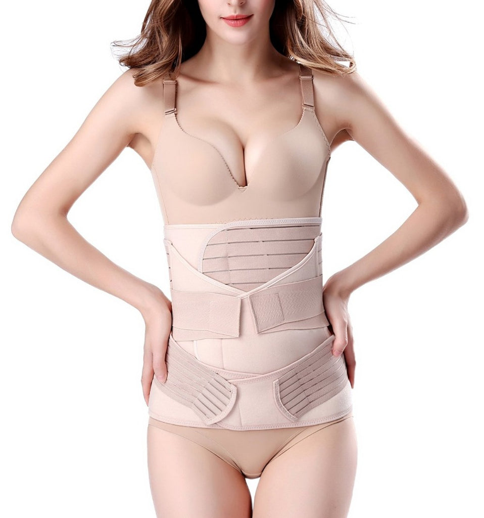 3 in 1 Postpartum Support Girdle C-section Postnatal Belt Body Shaper