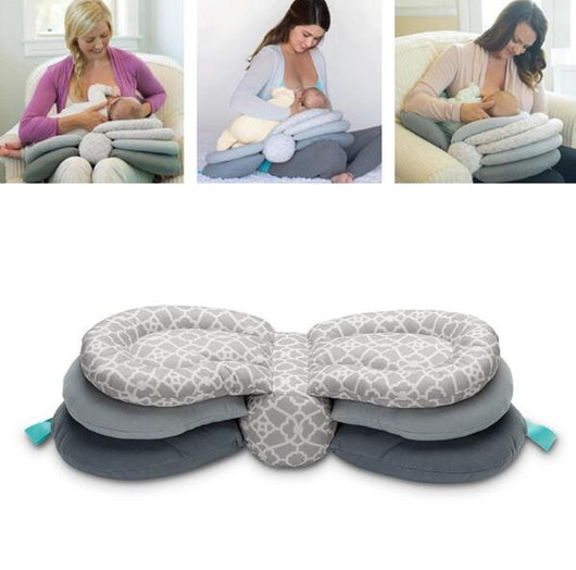 Multi functional & Adjustable Baby Breastfeeding Pillow