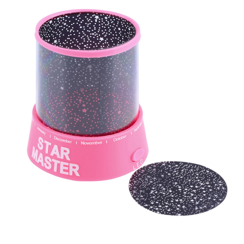 Cosmos Moon & Colorful Star Master Beauty Projector Night Lamp - Sleep Help