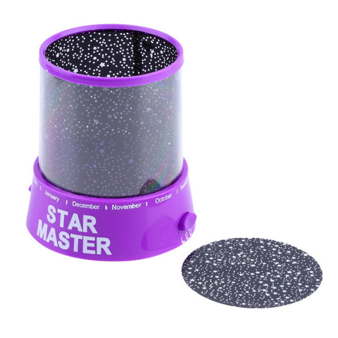 Image of Cosmos Moon & Colorful Star Master Beauty Projector Night Lamp - Sleep Help