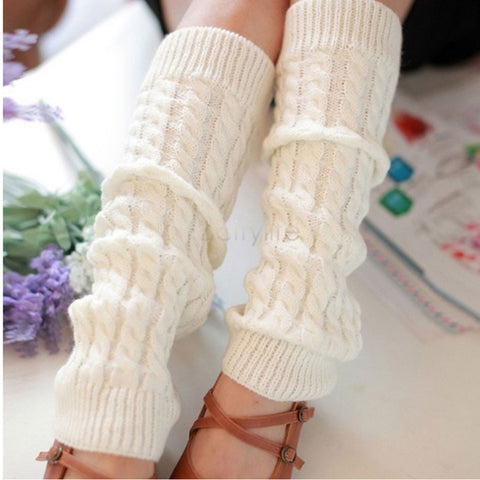 Image of Leg Warmers for Women ( High Warm  Knitted Knee )