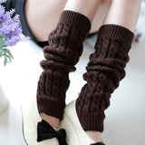Leg Warmers for Women ( High Warm  Knitted Knee )