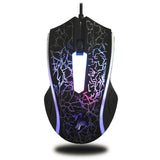 X7 4000DPI Wired Gaming Mouse (6 Button LED Optical Computer Mouse)