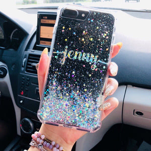 Handmade & Personalized Diamond Glitter Phone Case For Iphone